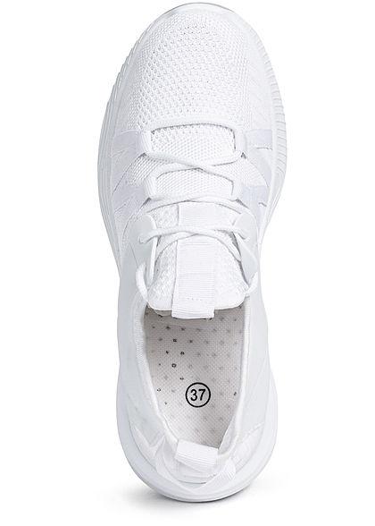 Seventyseven Lifestyle Damen Schuh Running Mesh Sneaker weiss