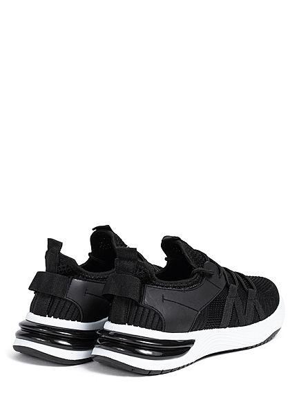 Seventyseven Lifestyle Damen Schuh Running Mesh Sneaker schwarz