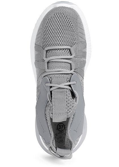 Seventyseven Lifestyle Damen Schuh Running Mesh Sneaker medium grau