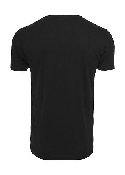Mister Tee Herren T-Shirt Dikkah Print schwarz