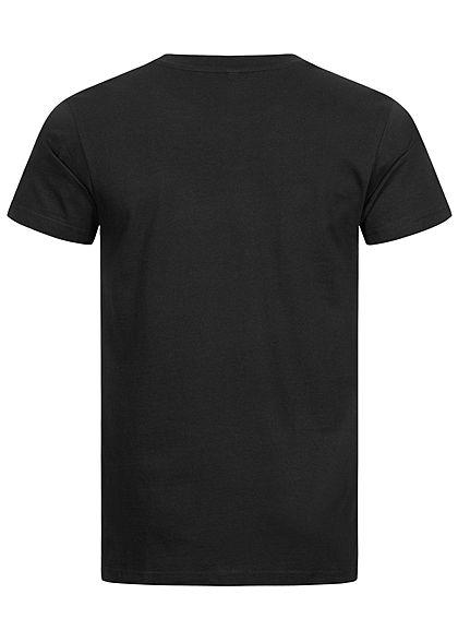 Mister Tee Herren T-Shirt Pray 2.0 Hand Print schwarz