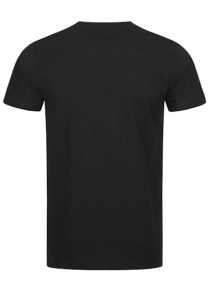 Mister Tee Herren T-Shirt All Day Every Day Print schwarz