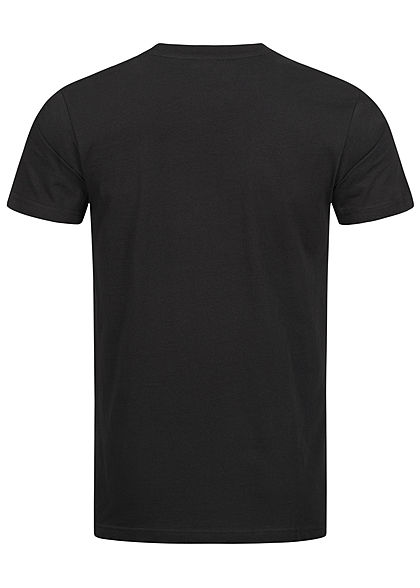 Mister Tee Herren T-Shirt Schuh Print schwarz