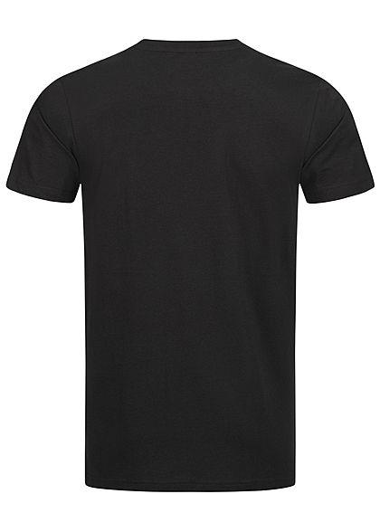 Mister Tee Herren T-Shirt Pray 3.0 Hand Print schwarz