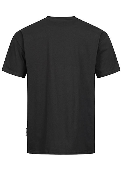 Southpole Herren T-Shirt 3D Logo Print schwarz