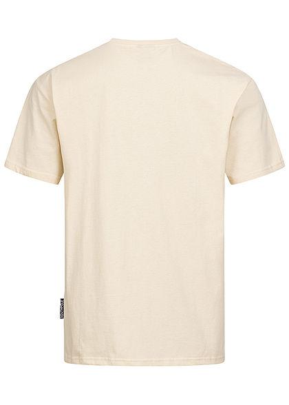 Southpole Herren T-Shirt 3D Logo Print sand beige