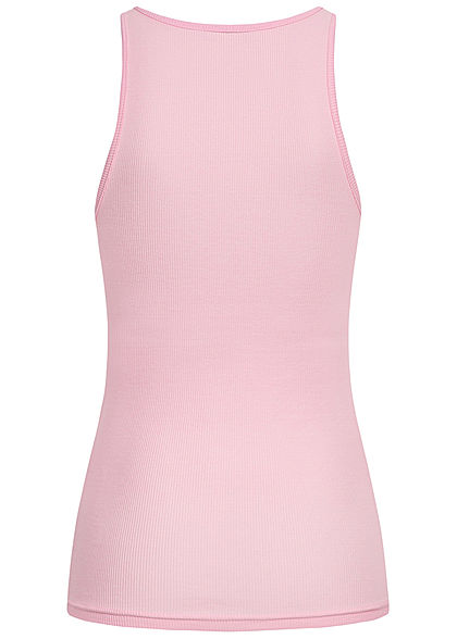 ONLY Damen NOOS Ribbed Tank Top pink lady rosa
