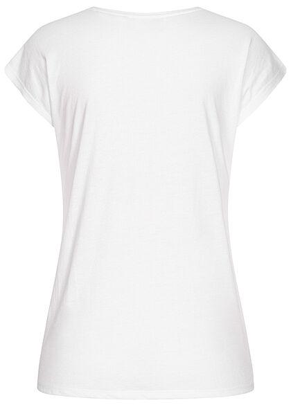 Hailys Damen T-Shirt Garfield Print weiss