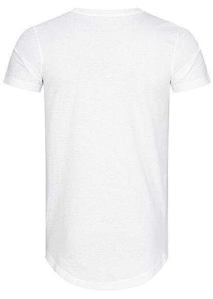 Tom Tailor Herren Basic T-Shirt weiss