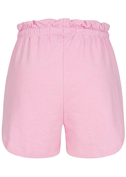 ONLY Damen Paperbag Shorts Tunnelzug 2-Pockets sachet lila
