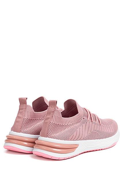 Seventyseven Lifestyle Damen Schuh Running Mesh Sneaker pink grau