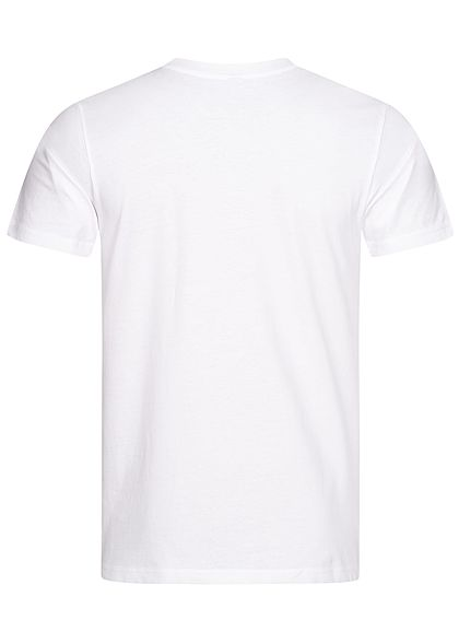 Mister Tee Herren T-Shirt Raised by the Streets Basketball Print weiss