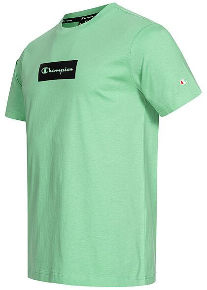 Champion Herren T-Shirt Logo grün