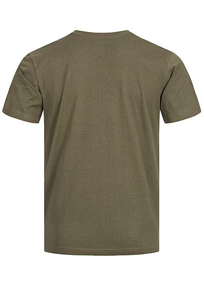 Brandit Herren Basic T-Shirt oliv grün