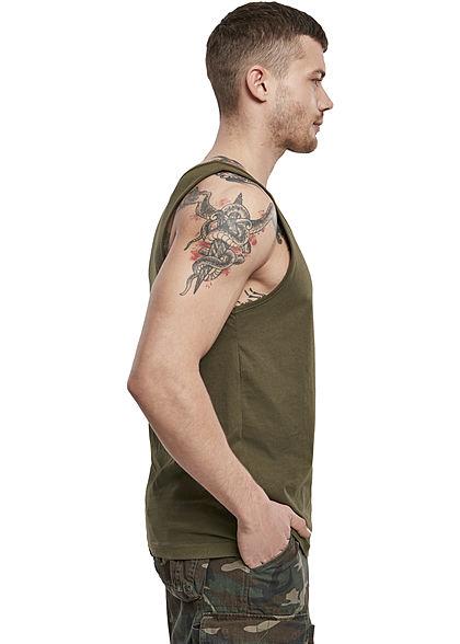 Brandit Herren Basic Tank Top oliv grün