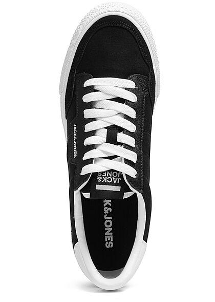 Jack and Jones Herren NOOS Schuh Sneakers zum schnüren anthrazit schwarz