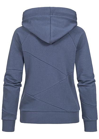 Seventyseven Lifestyle Damen Segment Hoodie mit Kapuze insignia blau