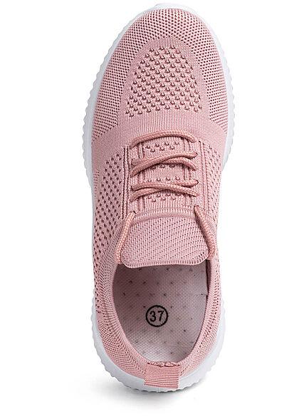 Seventyseven Lifestyle Damen Schuh Basic Running Mesh Sneaker old rose