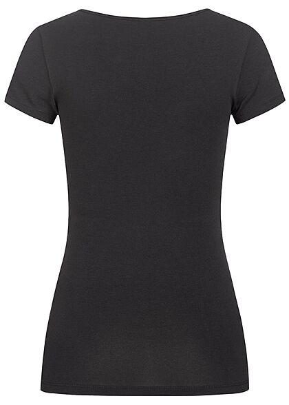 ONLY Damen NOOS O-Neck T-Shirt schwarz