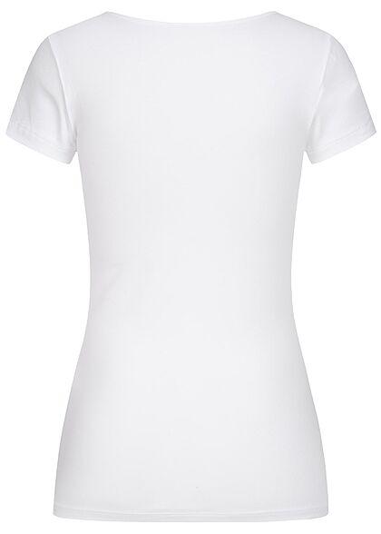 ONLY Damen NOOS O-Neck T-Shirt weiss
