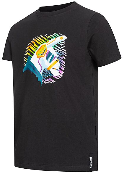 164,176 Jungen T-Shirt Fortnite weiß,mehrfarbigem Print,Lama Epic Games