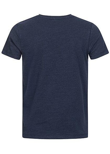 Name It Kids Jungen T-Shirt Surf Time Print saphir blau