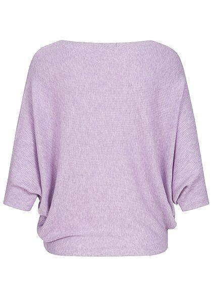 JDY by ONLY Damen NOOS 1/2 Fledermausarm Pullover pastel lila