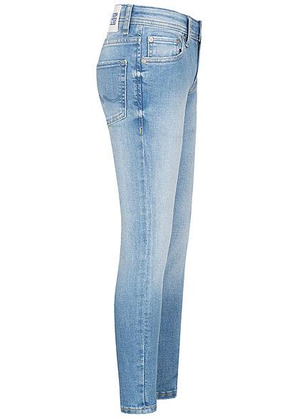 Jack and Jones Junior NOOS Skinny Fit Stretchy Jeans Hose 5-Pockets blau denim