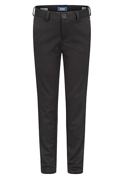 Jack and Jones Junior NOOS elegante Slim-Fit Chino Hose 3-Pockets schwarz
