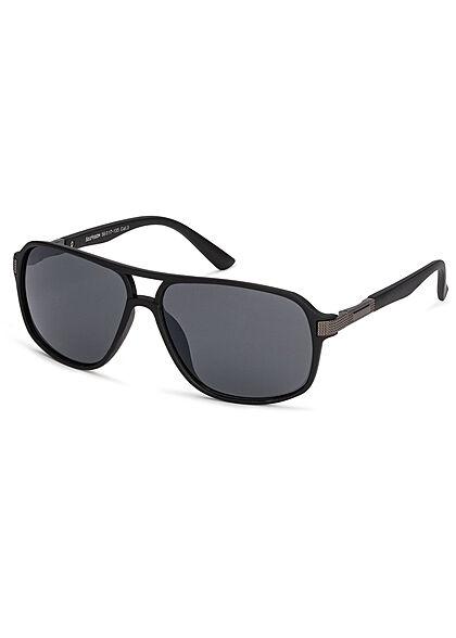 Seventyseven Lifestyle Herren Sonnenbrille UV-Schutz 400 schwarz