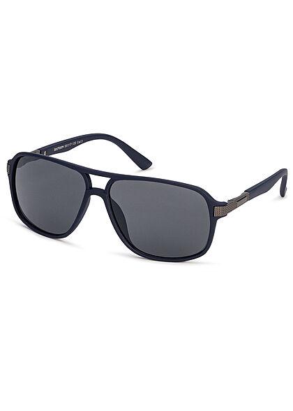 Seventyseven Lifestyle Herren Sonnenbrille UV-Schutz 400 navy blau