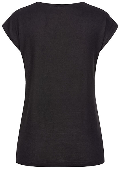 Pieces Damen NOOS T-Shirt Loose Fit schwarz