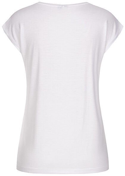 Pieces Damen NOOS T-Shirt Loose Fit bright weiss
