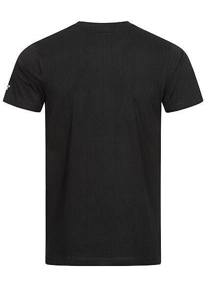Starter Herren T-Shirt T-Shirt Logo Print schwarz weiss