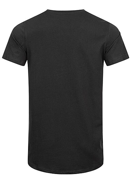 Jack and Jones Herren NOOS Basic T-Shirt schwarz