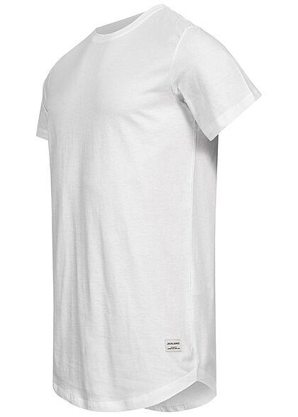 Jack and Jones Herren NOOS Basic T-Shirt weiss