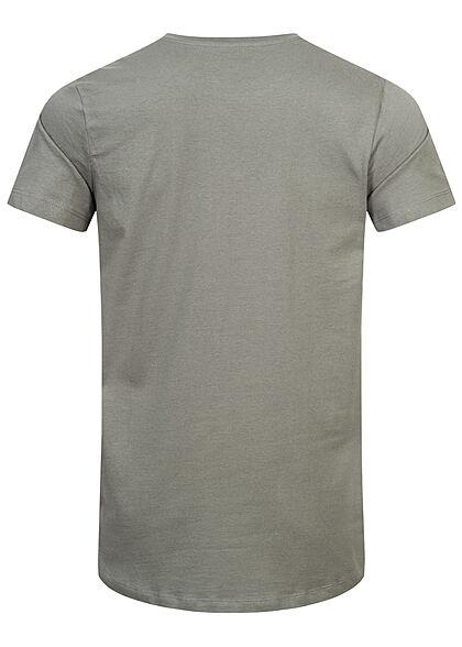 Jack and Jones Herren NOOS Basic T-Shirt sedona sage grau