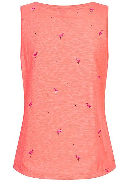 ONLY Damen Tank Top Flamingo Print strawberry pink