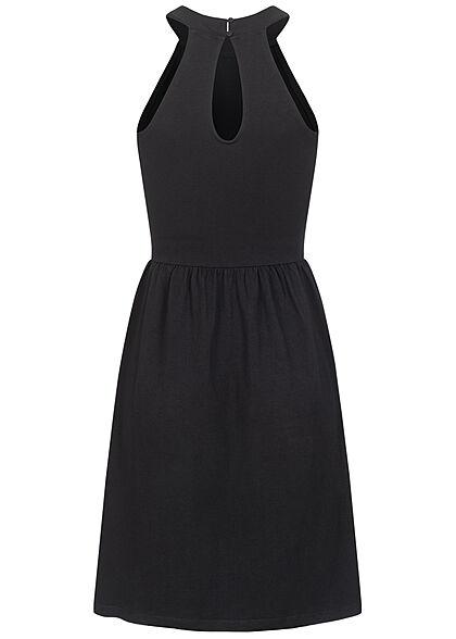 ONLY Damen NOOS Neckholder Mini Kleid schwarz