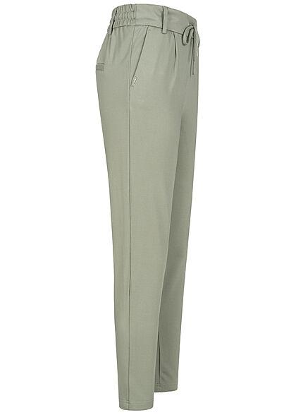 ONLY Damen NOOS Poptrash Stoffhose 2-Pockets shadow grün