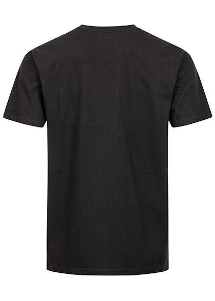 Mister Tee Herren Oversized T-Shirt Power Forward Print schwarz