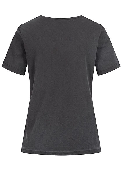 ONLY Damen T-Shirt Tupac Print schwarz