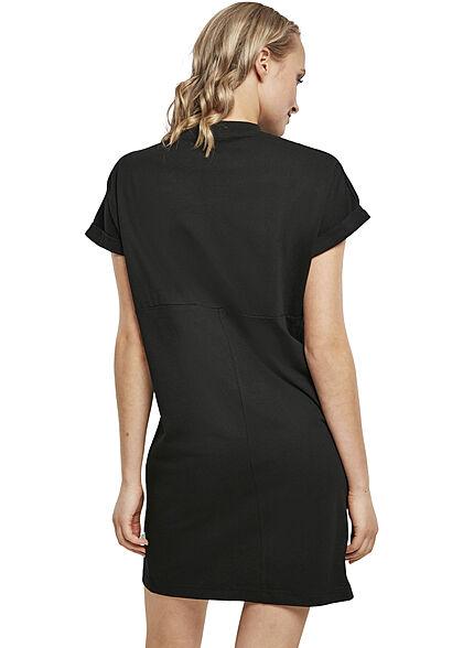 Urban Classics Damen T-Shirt Kleid schwarz