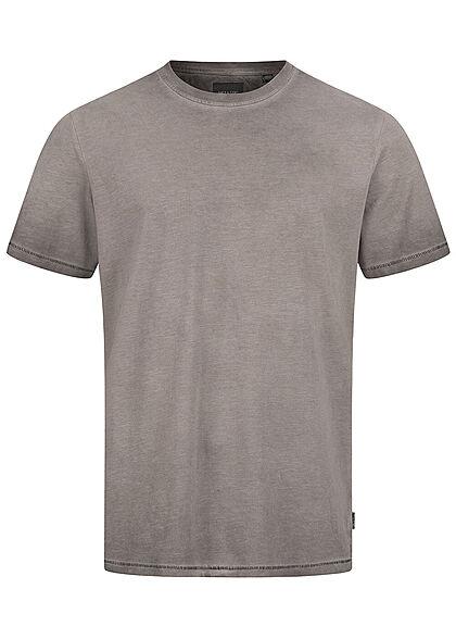 ONLY & SONS Herren NOOS Basic T-Shirt im washed Look schwarz