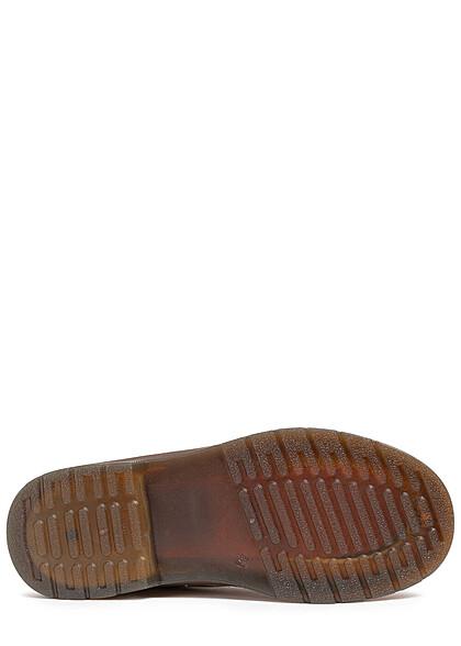 Seventyseven Lifestyle Damen Schuh leichte Worker Boots zum schnüren camel braun