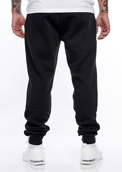 Jack and Jones Herren NOOS Sweathose Jogginghose Logo Print 2-Pockets schwarz