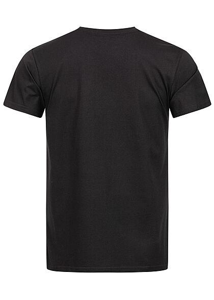 Merchcode Herren T-Shirt Scarface Print schwarz