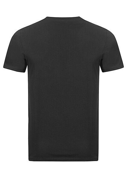 Jack and Jones Herren NOOS T-Shirt Logo Print in grau schwarz