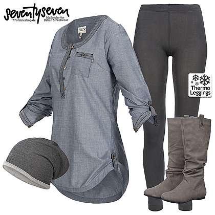 komplette damen outfits g nstig online bestellen 77onlineshop. Black Bedroom Furniture Sets. Home Design Ideas