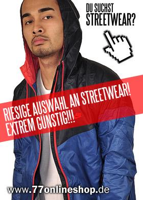 promo code 6339d 36c88 Streetwear günstig bestellen Streetwear Shop - 77onlineshop